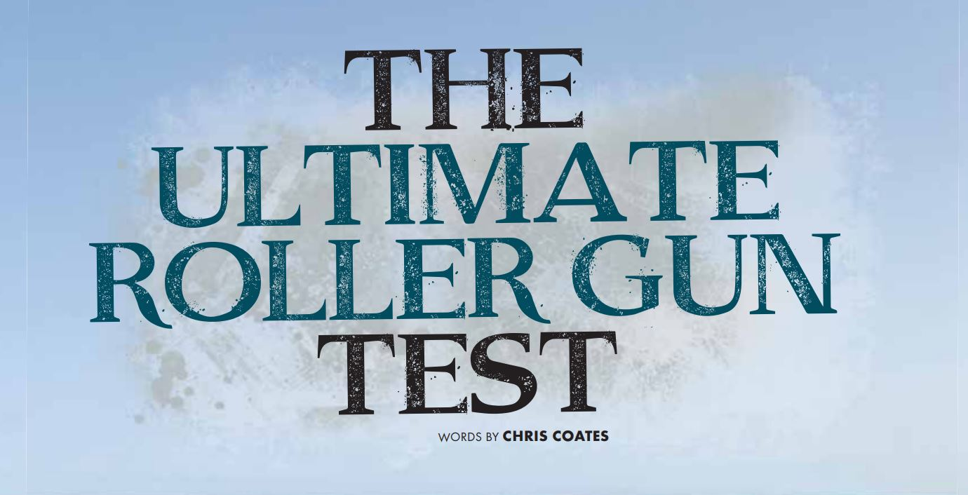 The Ultimate Roller gun test