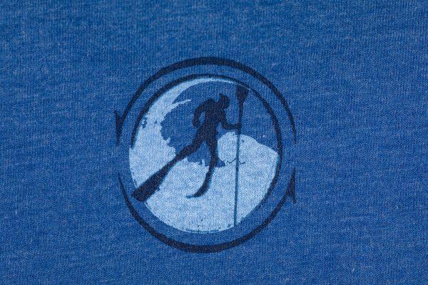 Ultimate Spearfishing Mens Short Sleeve Blue
