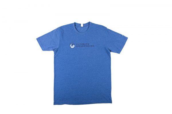 Ultimate Spearfishing Mens Short Sleeve Blue