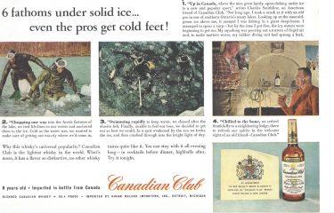 Canadian Club Vintage Ad