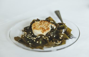 Seared Scallop with Wakame Salad